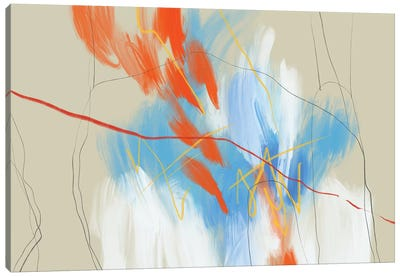 Fire And Ice 2 Canvas Art Print