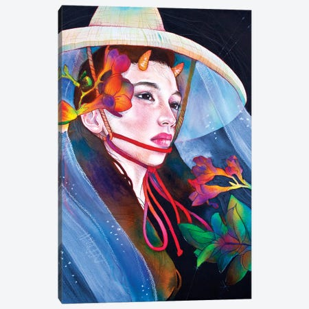 Beauty Or Beast Canvas Print #JUR2} by JUURI Art Print