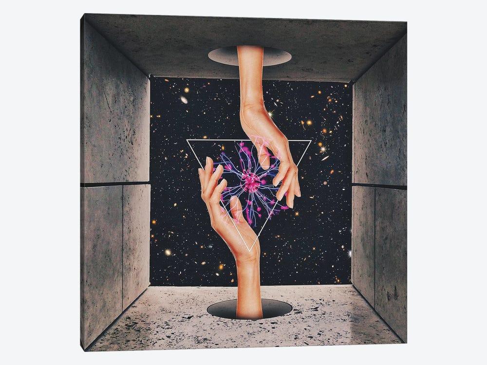 Static I by maysgrafx 1-piece Canvas Wall Art