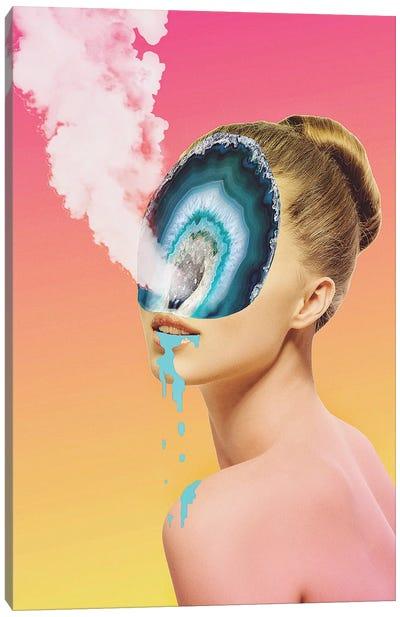 Agate Smoke Canvas Art Print