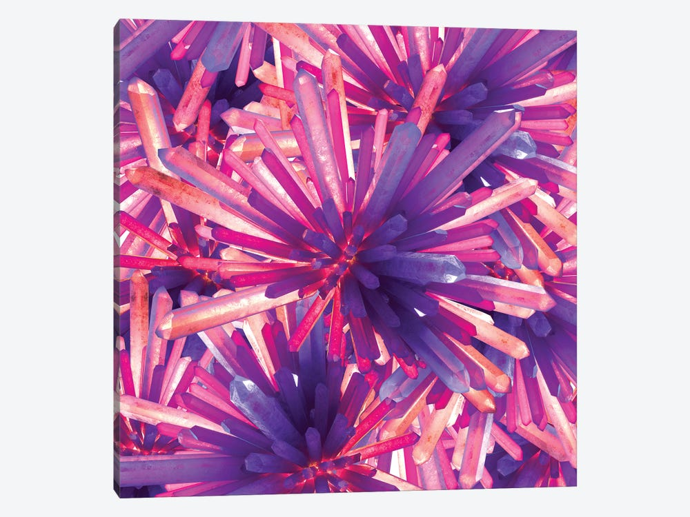 Crystals by maysgrafx 1-piece Canvas Print