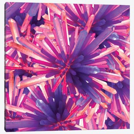 Crystals Canvas Print #JUS12} by maysgrafx Art Print