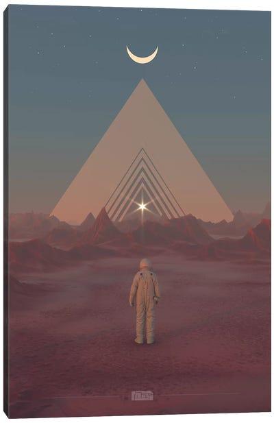 Desert Planet I Canvas Art Print