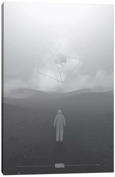 Desert Planet IV Canvas Art Print