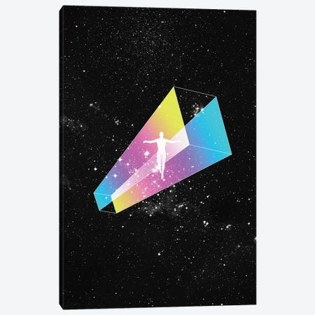 Space Canvas Print #JUS39} by maysgrafx Art Print