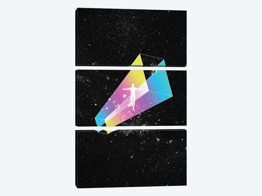 Space by Maysgrafx 3-piece Canvas Art