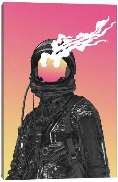 Burnt Canvas Art Print