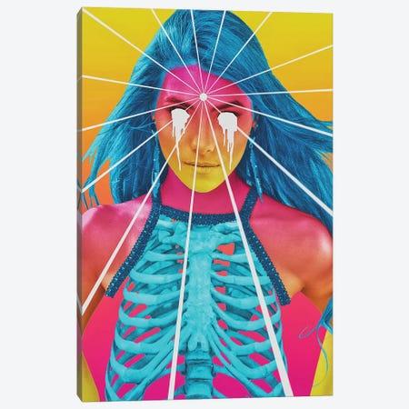 Acid Canvas Print #JUS47} by maysgrafx Art Print