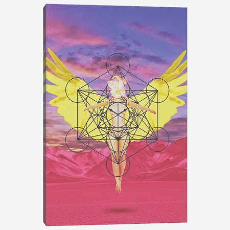 Angel Canvas Print #JUS49} by maysgrafx Canvas Wall Art