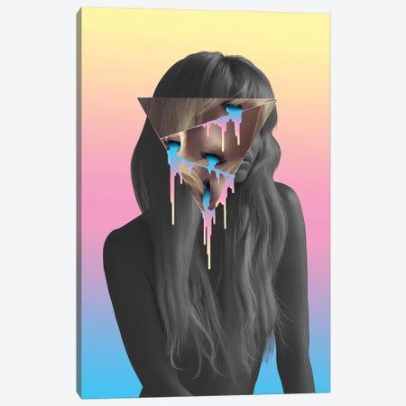 Blonde Eyes Canvas Print #JUS5} by maysgrafx Canvas Print