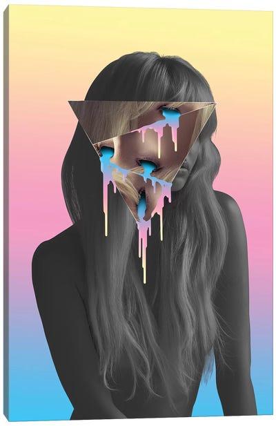 Blonde Eyes Canvas Art Print