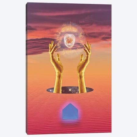 Ethereal Sacrifice Canvas Print #JUS62} by maysgrafx Canvas Artwork