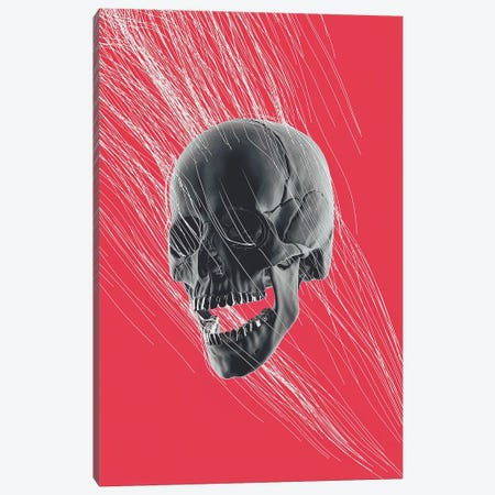 Scream Canvas Print #JUS94} by maysgrafx Canvas Artwork
