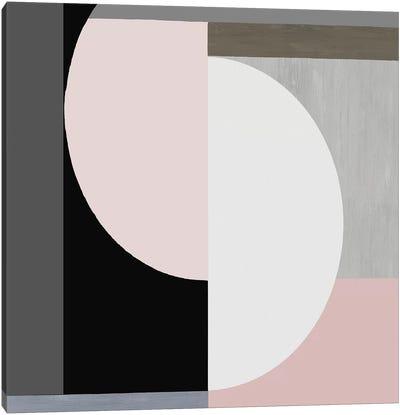 Balanced Blush I Canvas Art Print