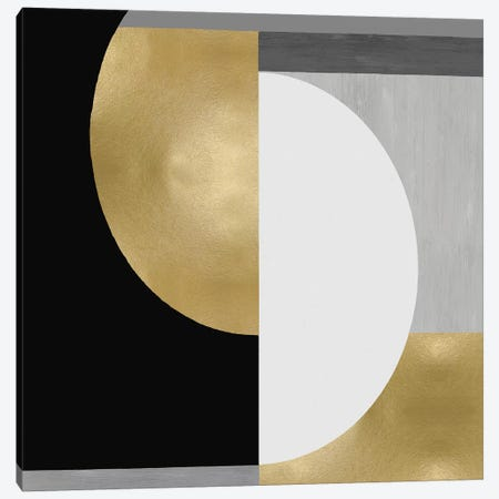 Balanced in Gold II Canvas Print #JUT15} by Justin Thompson Canvas Print