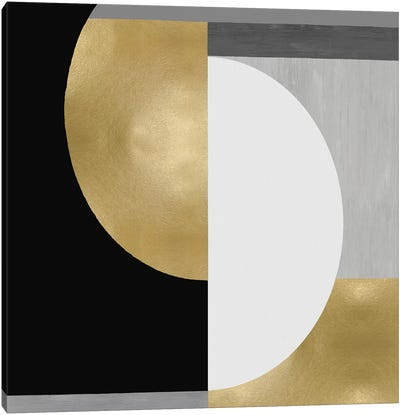 Balanced in Gold II Canvas Art Print