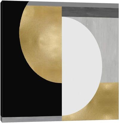 Balanced in Gold II Canvas Art Print