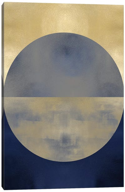 Blue Sphere II Canvas Art Print