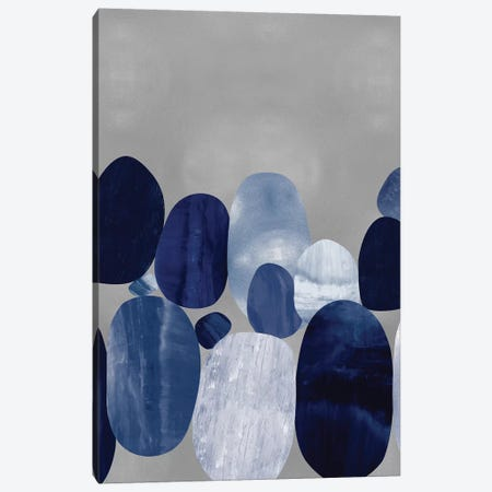 Connected on Silver II Canvas Print #JUT26} by Justin Thompson Canvas Art