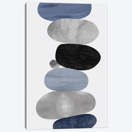 Emerge Blue I Canvas Print #JUT27} by Justin Thompson Canvas Artwork