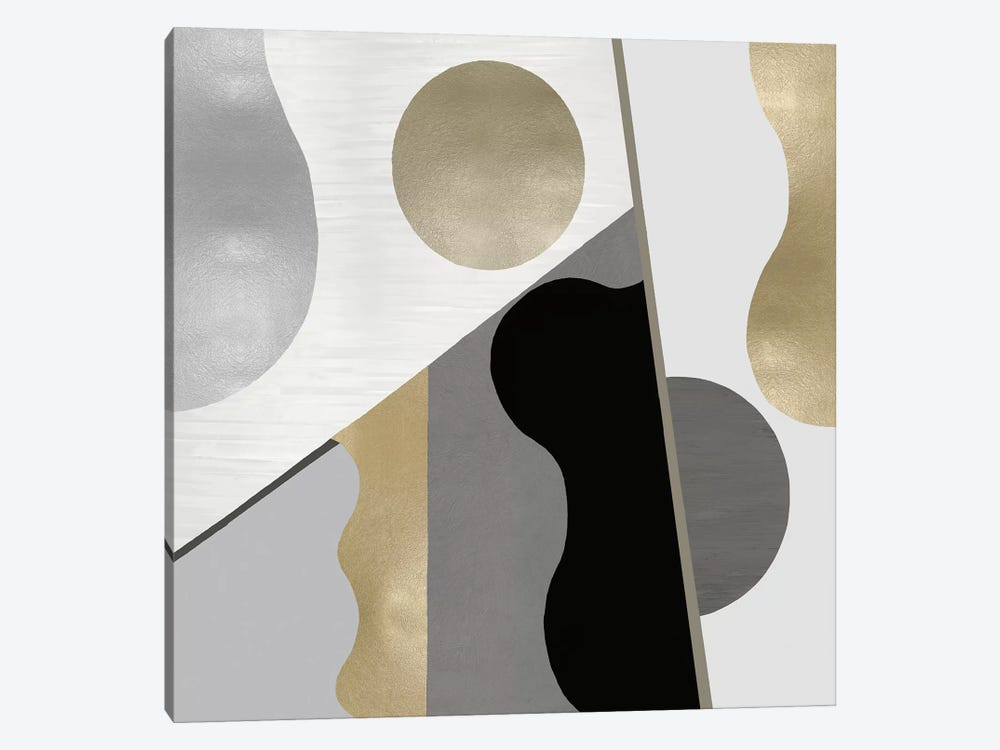 Form Movement by Justin Thompson 1-piece Canvas Art Print