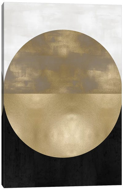 Gold Sphere Canvas Art Print