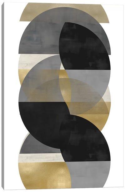 Layered II Canvas Art Print