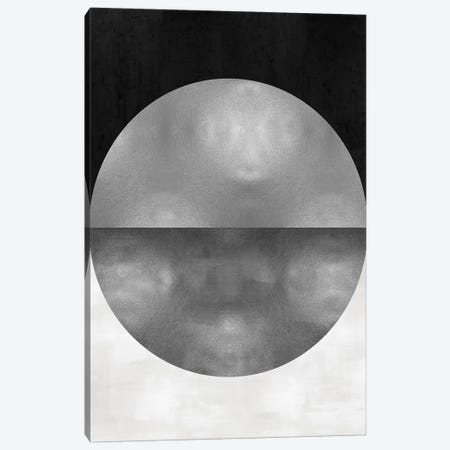 Silver Sphere Canvas Print #JUT46} by Justin Thompson Canvas Wall Art