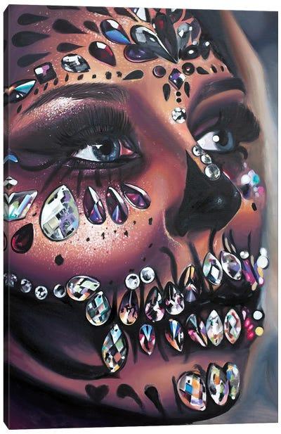 Candy Skull Canvas Art Print