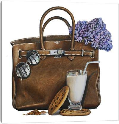 Milk & Cookies Birkin Canvas Art Print