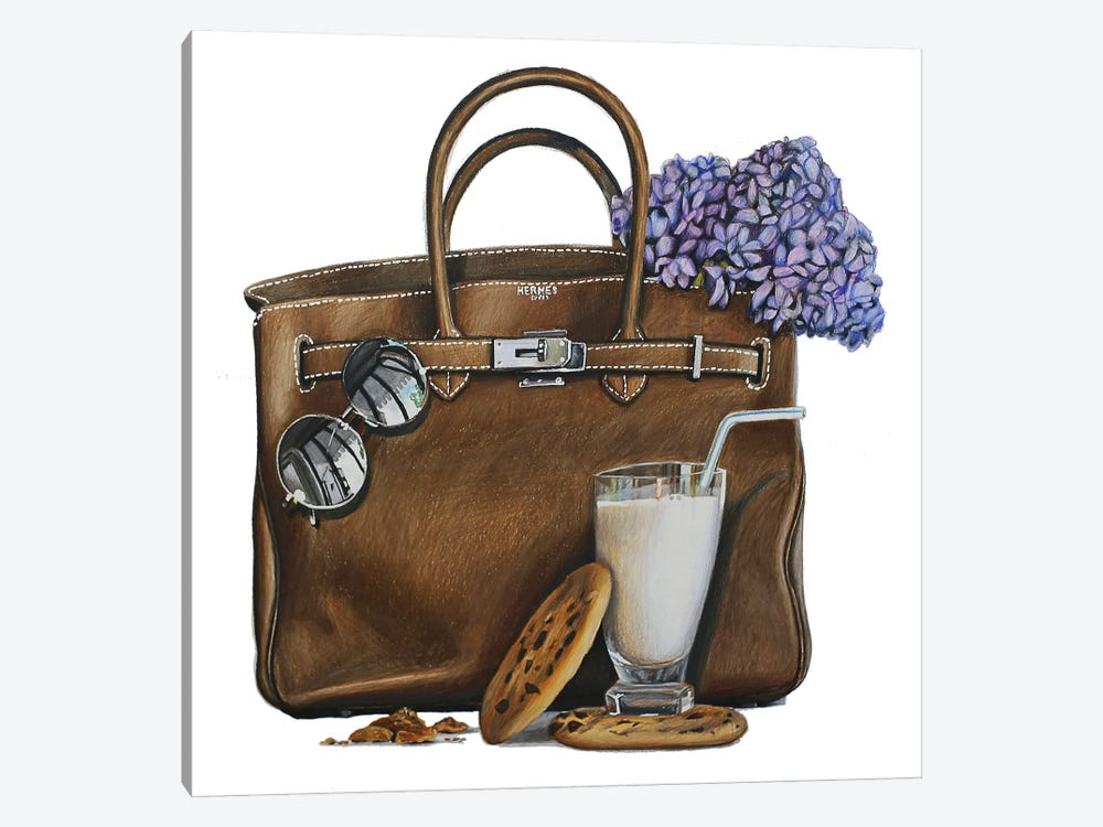 Milk & Cookies Birkin by Julia Ryan 1-piece Canvas Wall Art