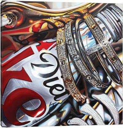 Coke And Cartier Canvas Art Print