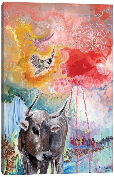 Gold Hooves Canvas Art Print