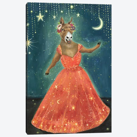 Hariett's Grand Opera Canvas Print #JVA11} by Jahna Vashti Art Print