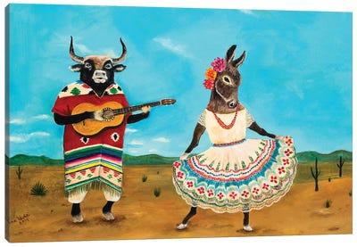 La Serenata de la Burra Canvas Art Print