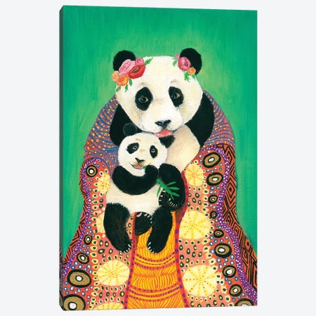 Ling Ling's Coronation Canvas Print #JVA17} by Jahna Vashti Canvas Art