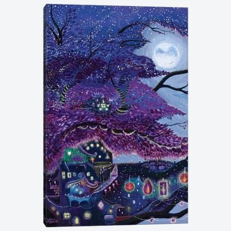 My Purple Dream Canvas Print #JVA19} by Jahna Vashti Canvas Print