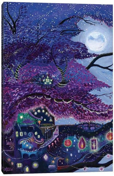 My Purple Dream Canvas Art Print