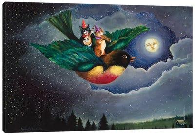 A Robin's Dream Canvas Art Print