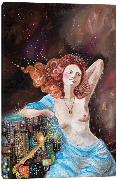 Postcard II Canvas Art Print
