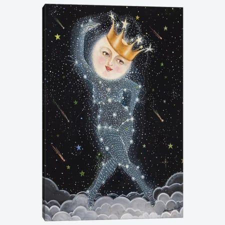 Sister Moon Canvas Print #JVA28} by Jahna Vashti Canvas Wall Art