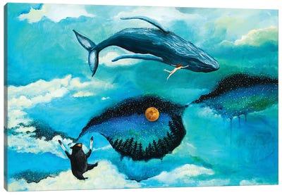That Summer in Alaska Canvas Art Print
