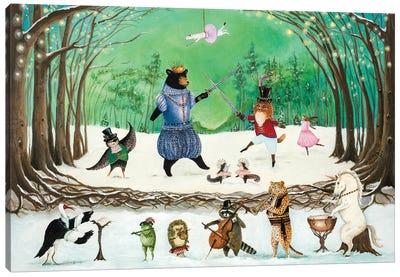 The Waltz of Winter Canvas Art Print
