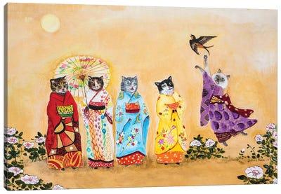 Warui Kiti Canvas Art Print