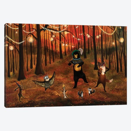 Autumn Splendor Canvas Print #JVA38} by Jahna Vashti Canvas Print