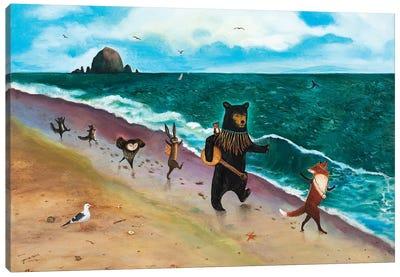 Beach Day! Canvas Art Print