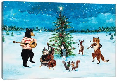 O Joyous Night! Canvas Art Print