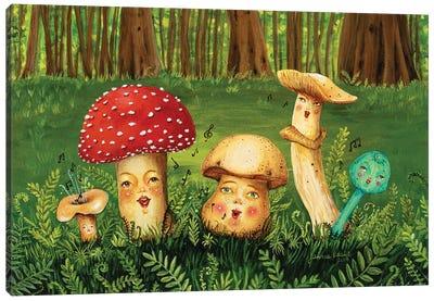 Shroom Tunes Canvas Art Print