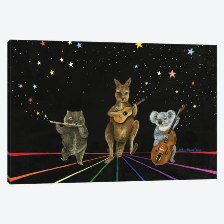Starlight Jamboree Canvas Print #JVA44} by Jahna Vashti Canvas Print