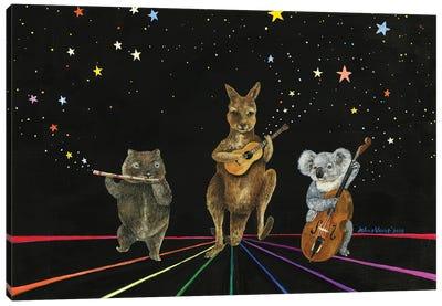 Starlight Jamboree Canvas Art Print